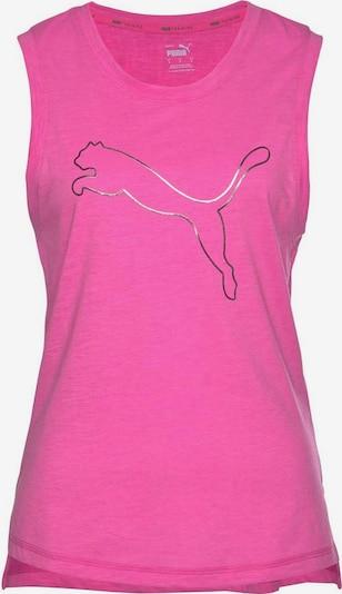 PUMA Sporttop 'Train Favorite Cat Muscle' in de kleur Pink, Productweergave