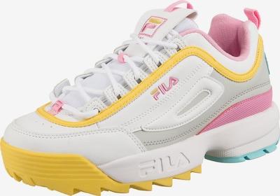 FILA Disruptor Cb Low Wmn Sneakers Low in hellblau / gelb / grau / pink / weiß, Produktansicht