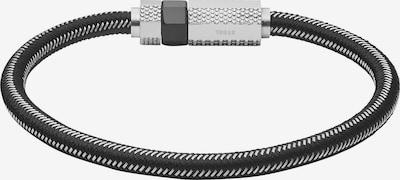 DIESEL Armband in de kleur Grijs / Zwart, Productweergave