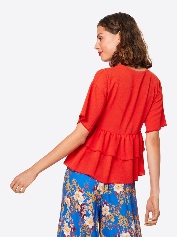 In Rood Blouse Blouse In Rood Boohoo Blouse Rood Boohoo Boohoo In Blouse In Boohoo FlJ1cK