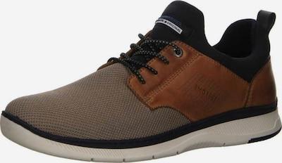 SALAMANDER Sneaker in braun / hellbraun / schwarz: Frontalansicht