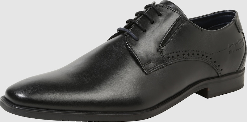 bugatti Schnürschuh Verschleißfeste aus Leder Verschleißfeste Schnürschuh billige Schuhe f920c7
