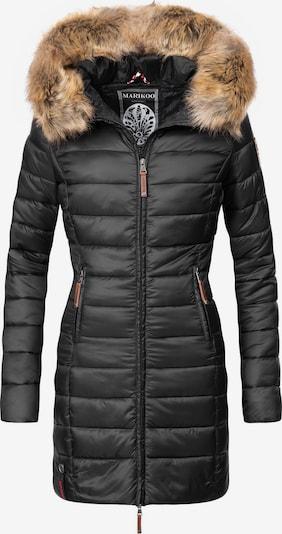 MARIKOO Steppmantel ' Rose-Stepp ' in schwarz, Produktansicht