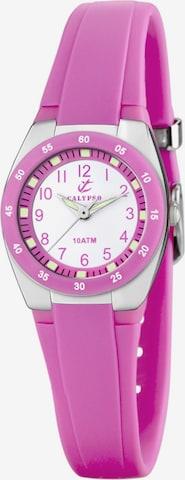 CALYPSO WATCHES Quarzuhr 'K6043/C' in Pink