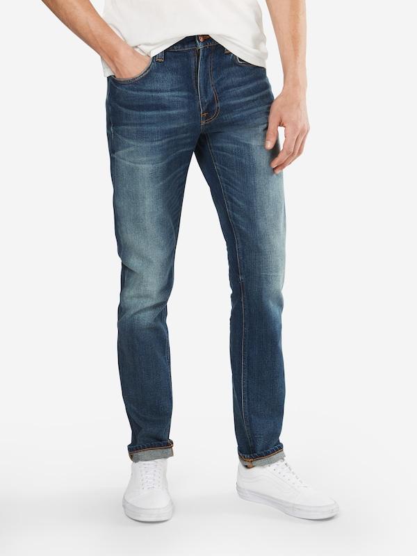 Dean' En Co Denim Jean 'lean Bleu Nudie Jeans XZOiuPkT