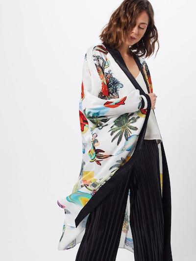 GUESS Mantel 'Bonnie' in mischfarben / weiß, Modelansicht