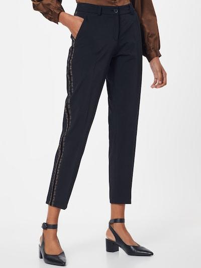 Pantaloni eleganți 'MARON' BRAX pe negru, Vizualizare model