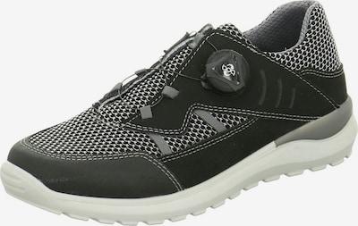 RICOSTA Lage schoen in de kleur Zwart / Wit, Productweergave