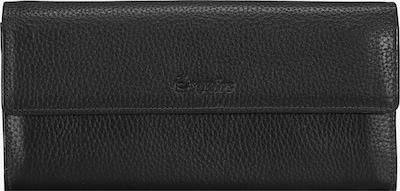 Esquire Geldbörse 'Primavera' in schwarz, Produktansicht