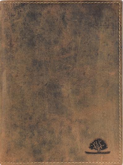 GREENBURRY Vintage Ausweisetui Leder 12 cm in braun, Produktansicht