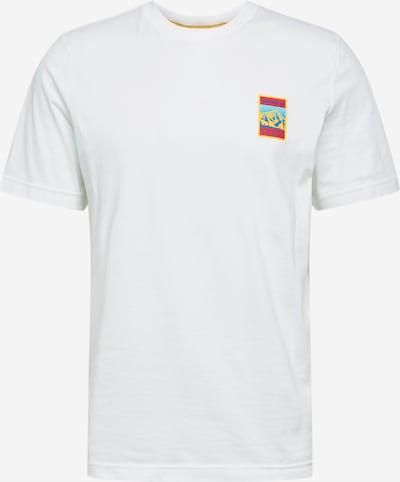 ADIDAS ORIGINALS T-Shirt in hellblau / gelb / hellrot / weiß, Produktansicht