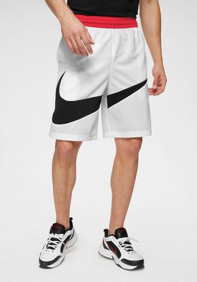 NIKE Športové nohavice - červená / čierna / biela, Model/-ka