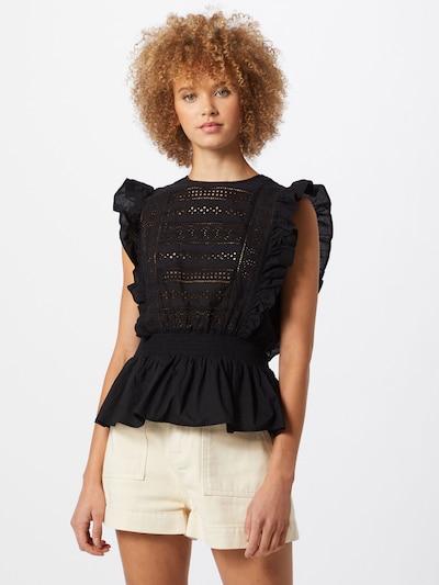 VERO MODA Top 'Simmi' in schwarz, Modelansicht