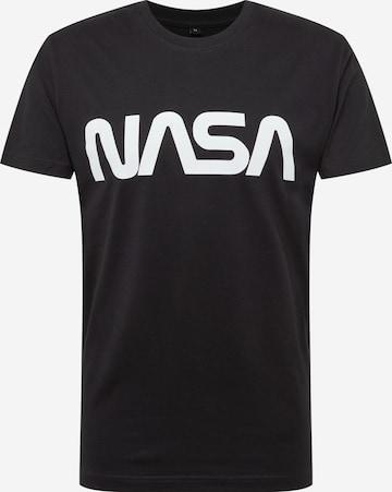 Mister Tee Skjorte 'NASA' i svart