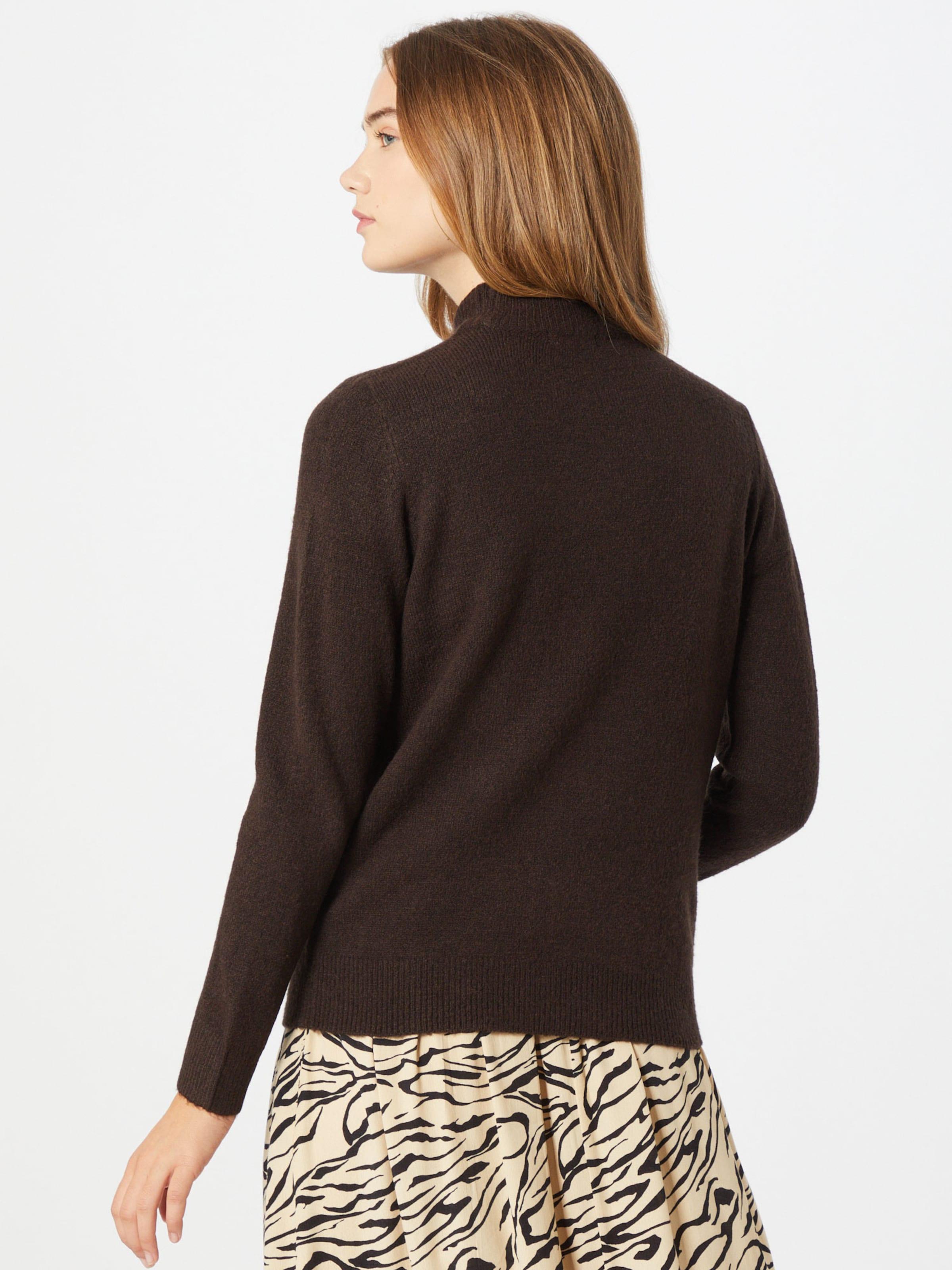 PIECES Pullover 'Bianca' in braun