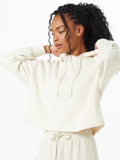 NU-IN Hoodie in offwhite, Modelansicht