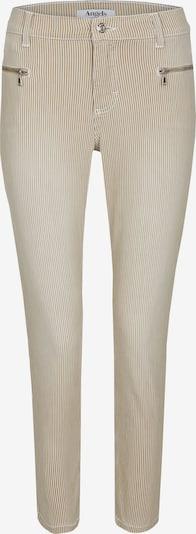 Angels Jeans ,Lou Lou' im feinen Streifen-Design in sand, Produktansicht