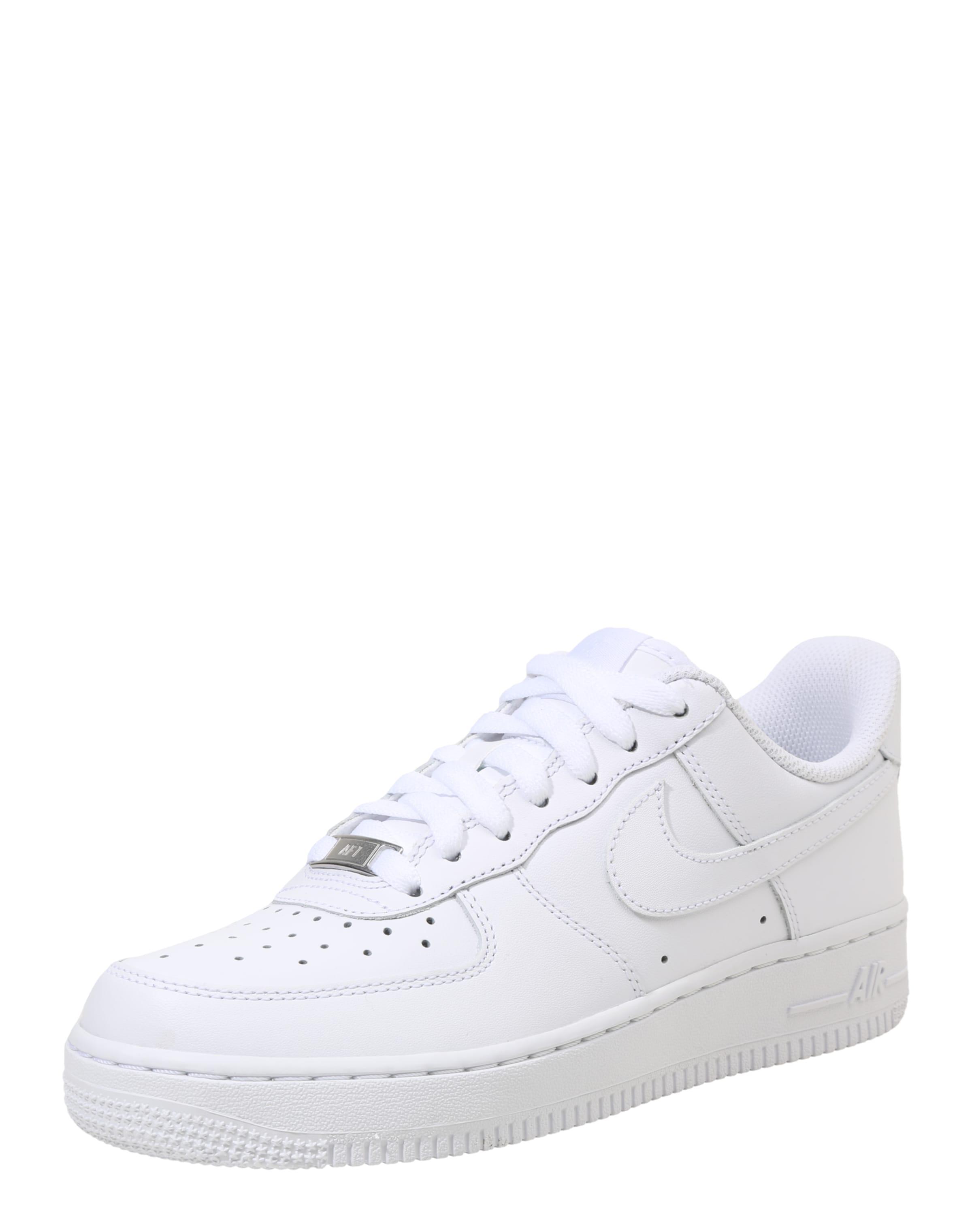 Baskets Nike Basses 'air 1' Force En Blanc Sportswear TFKJ1c3l