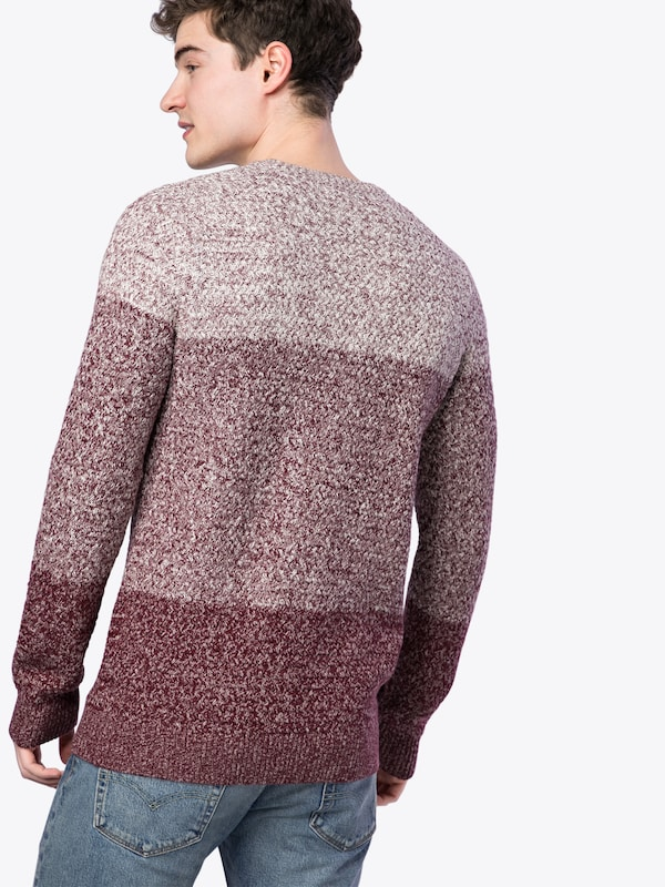 'rp Burg Ombre Mw Look New 39 08 Strickpullover Cable P' 11 Burgunder T6EqBp0n