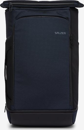 SALZEN Rucksack 'Travelete' in dunkelblau, Produktansicht