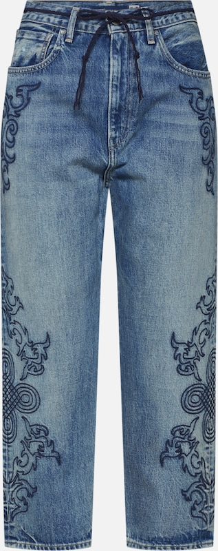 Levi's Made & Crafted Jeans 'LMC Barrel' in blue denim, Produktansicht