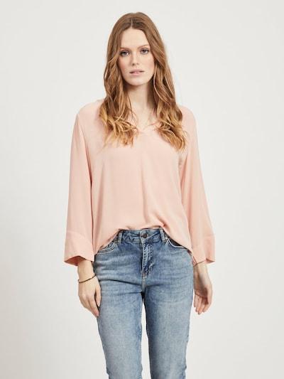 OBJECT Bluse in pfirsich, Modelansicht