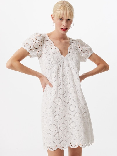 MICHAEL Michael Kors Kleid 'EYELET' in weiß, Modelansicht