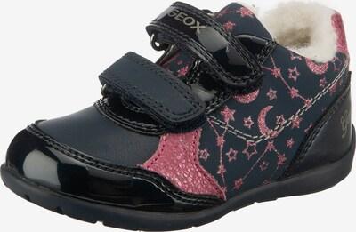 GEOX Kids Lauflernschuh in navy / pink, Produktansicht