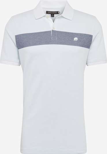 Banana Republic T-Shirt 'OLX BRANDED PIQUE COLORBLOCK POLO' en blanc, Vue avec produit