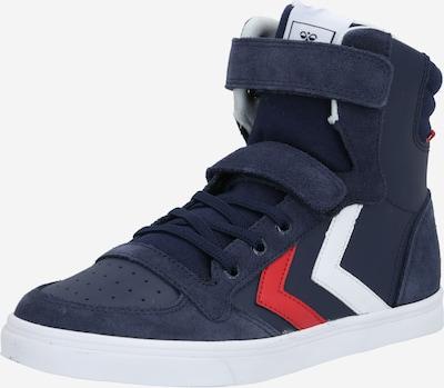 Hummel Zapatillas deportivas 'Slimmer Stadil' en azul oscuro / rojo / blanco, Vista del producto