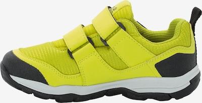 JACK WOLFSKIN Sneaker 'Attack 3' in gelb / hellgrau / schwarz: Frontalansicht