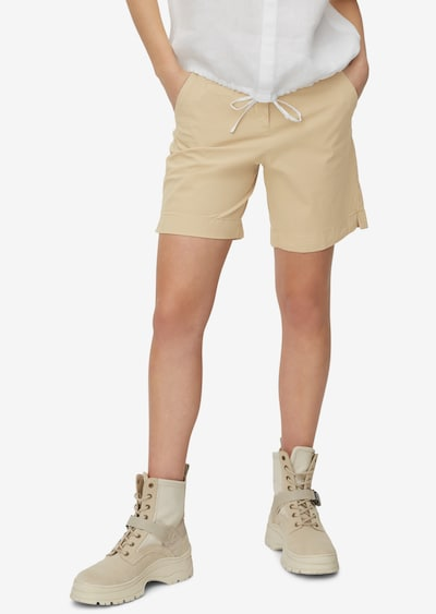 Marc O'Polo Shorts 'Verum' in beige, Modelansicht