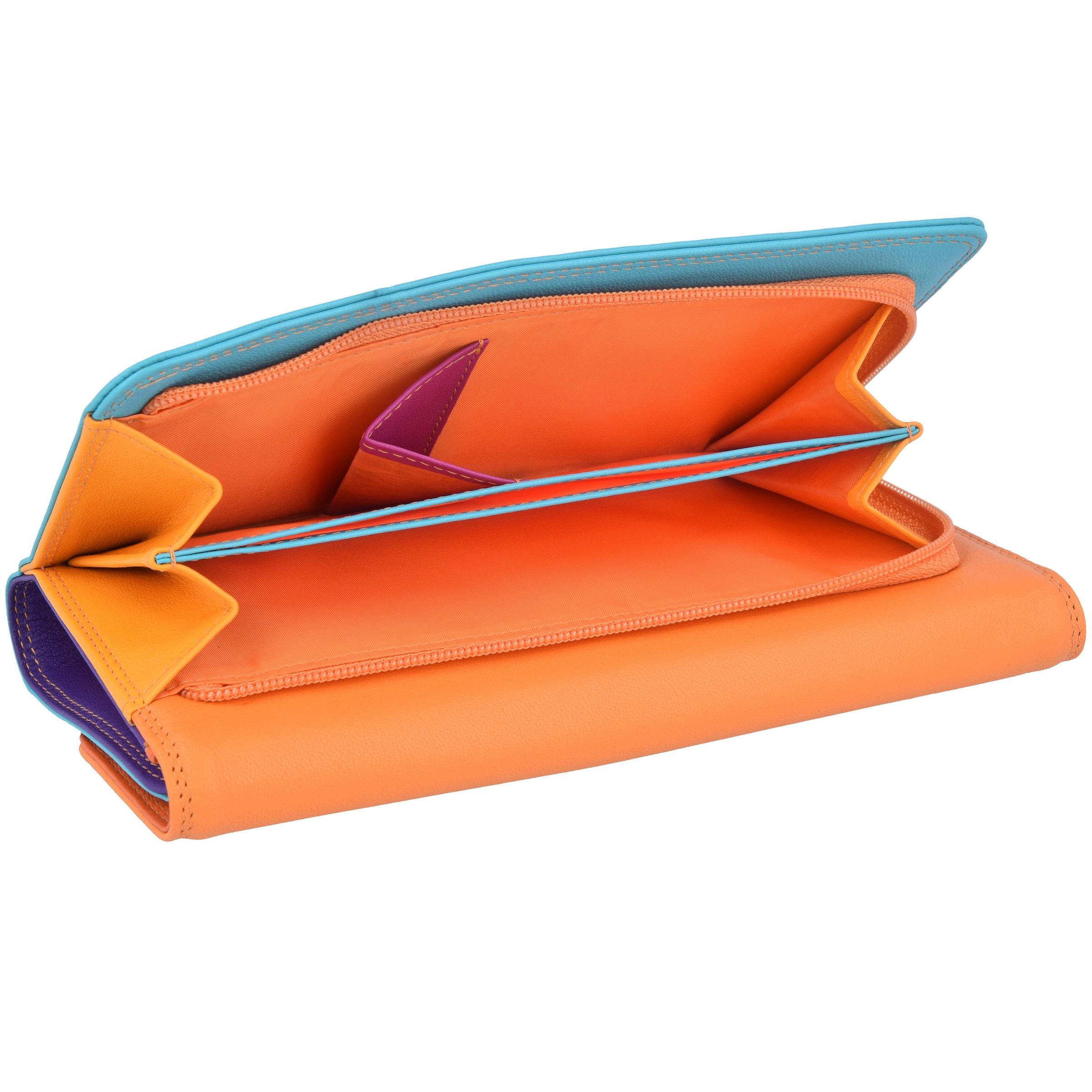 Geldbörse Neonorange 'tri Mywalit In Orange TürkisNeonlila fold' Neonpink iOkZXPu