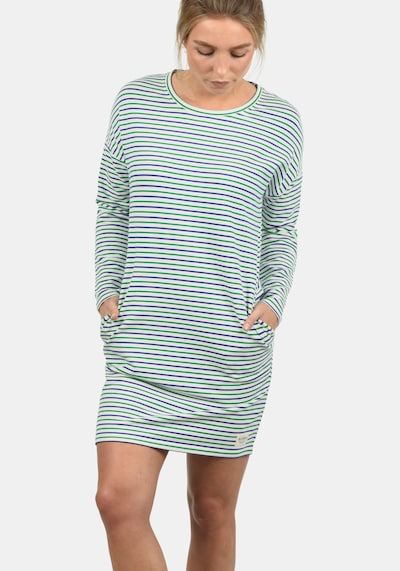 DESIRES Sweatkleid 'Helena' in blau / grün / weiß, Produktansicht