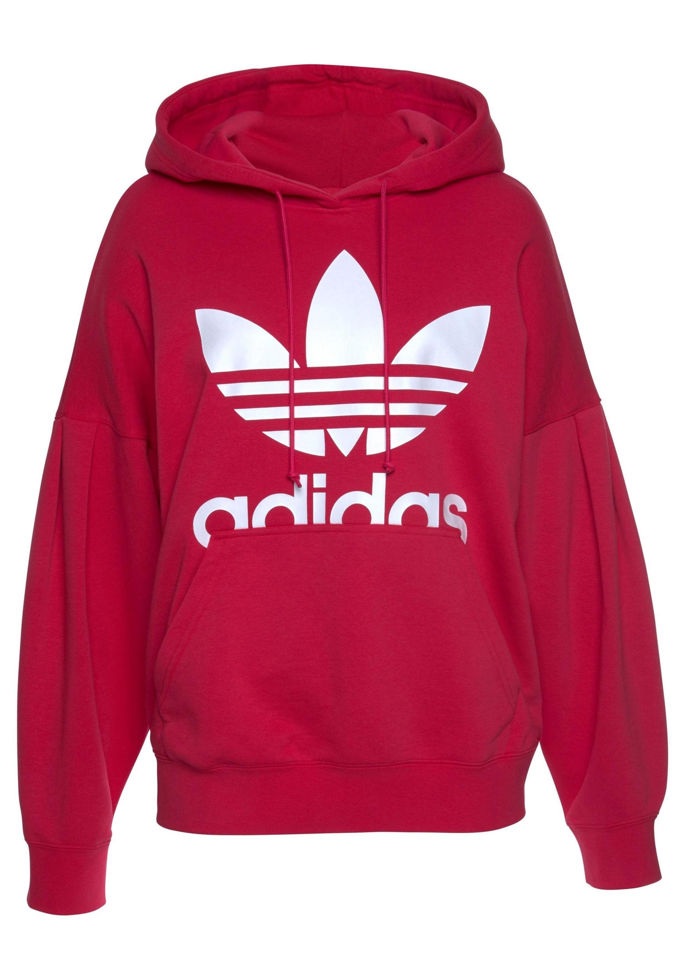 Adidas Kapuzensweatshirt Originals Originals PinkWeiß In Adidas Kapuzensweatshirt In PinkWeiß Adidas v8nOym0PNw