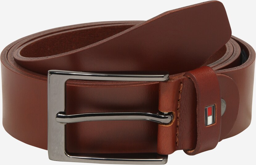 TOMMY HILFIGER Riem 'LAYTON ADJUSTABLE 3.5' in de kleur Cognac, Productweergave