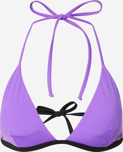 DIESEL Hauts de bikini en violet / noir, Vue avec produit
