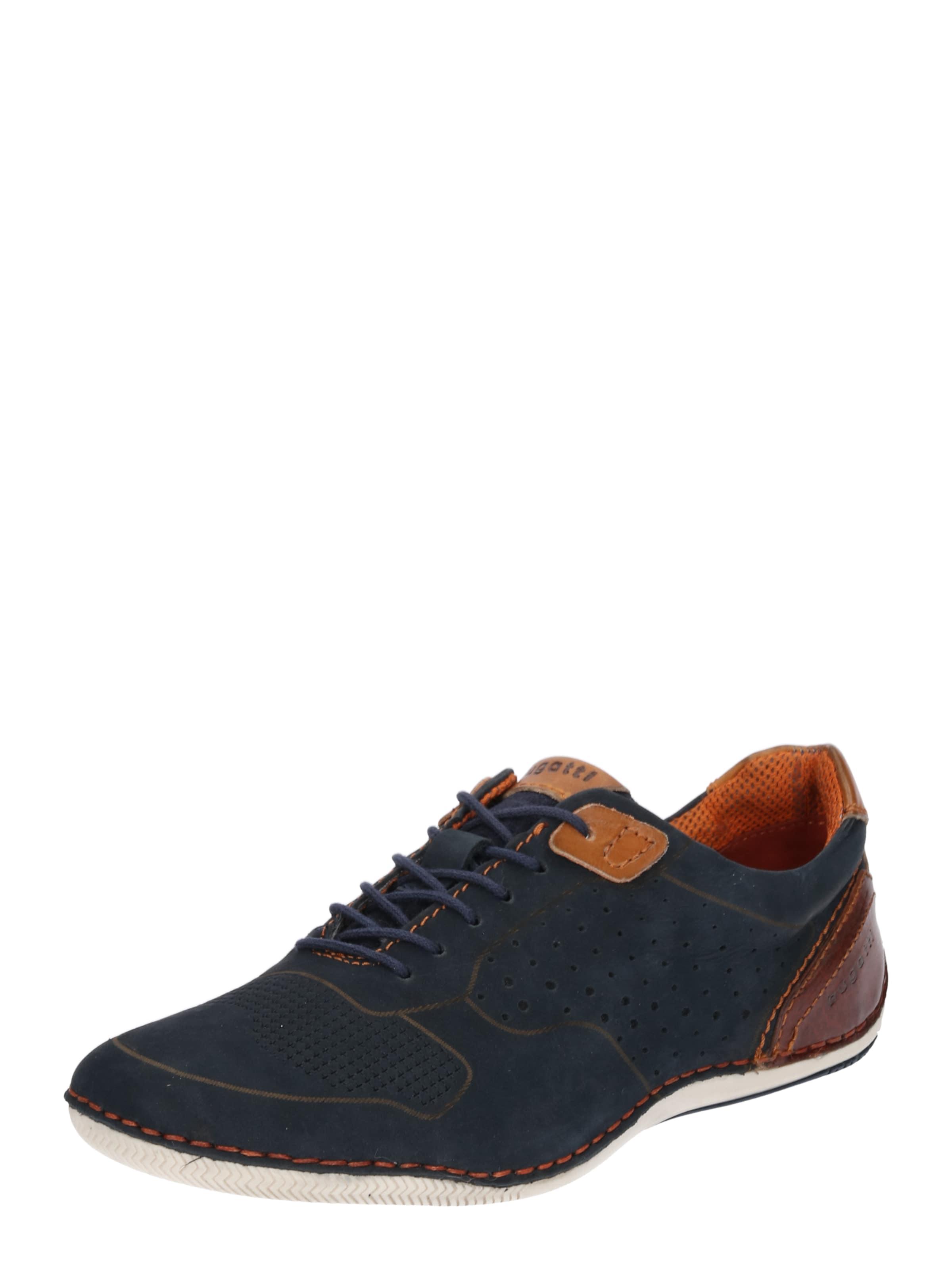 Haltbare Mode billige Schuhe bugatti | Sneaker mit Ziernähten Schuhe Gut getragene Schuhe