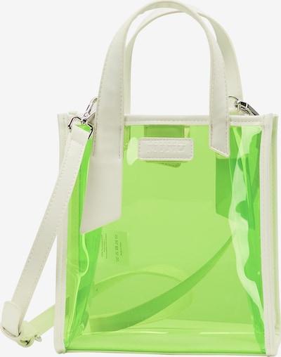 myMo ATHLSR Sporttas in de kleur Beige / Neongroen, Productweergave
