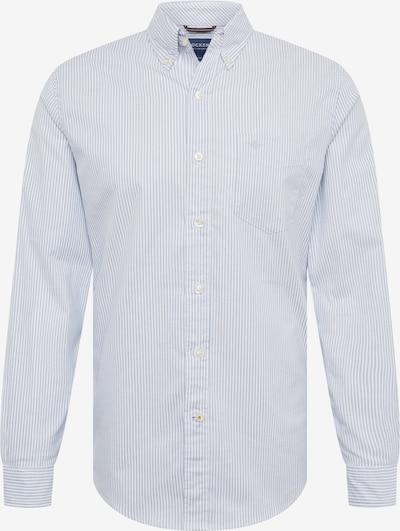 Dockers Overhemd 'OXFORD' in de kleur Blauw / Wit, Productweergave
