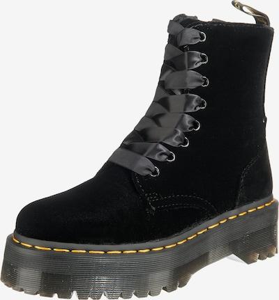 Suvarstomieji kulkšnis dengiantys batai iš Dr. Martens , spalva - juoda: Vaizdas iš priekio