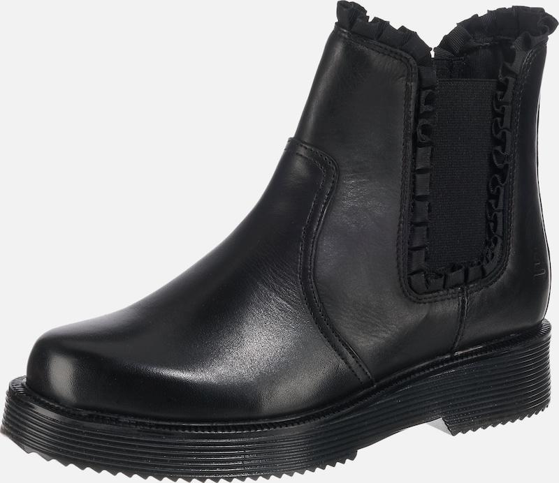 BULLBOXER Chelsea-Boots aus poliertem Leder