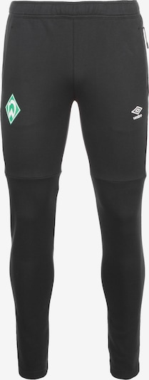 UMBRO Präsentationshose 'SV Werder Bremen' in schwarz, Produktansicht