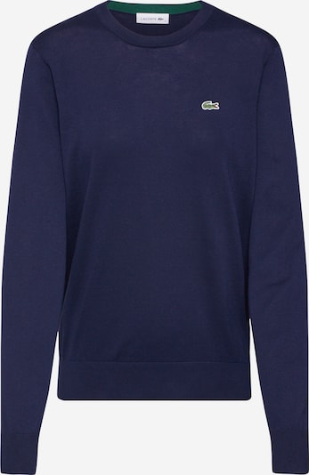 LACOSTE Sweatshirt 'TRICOT' in de kleur Marine / Donkerblauw, Productweergave