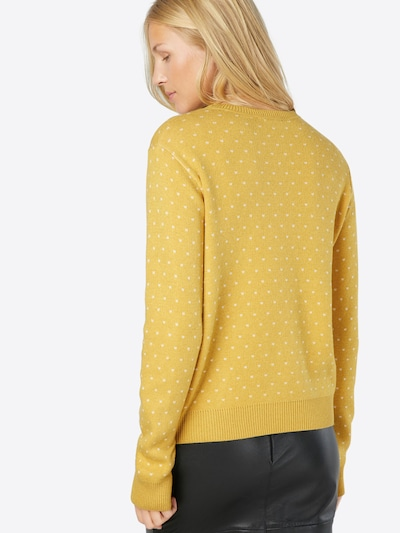 ABOUT YOU Pullover 'Leena Jumper' in gelb / curry: Rückansicht