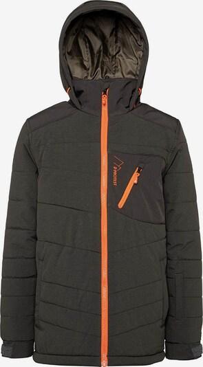 PROTEST Jacke 'Edwin' in orange / schwarz, Produktansicht