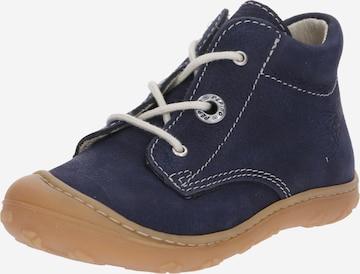 Scarpina primi passi 'Cory' di Pepino in blu