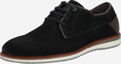 BULLBOXER Buty sznurowane w kolorze brązowy / czarnym, Podgląd produktu