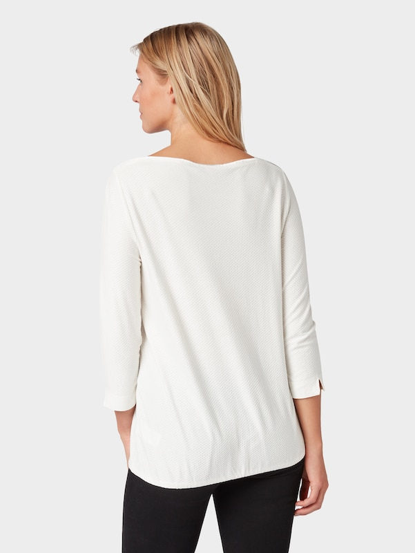 shirt Blanc Tailor Cassé T Tom En 354RLjqA