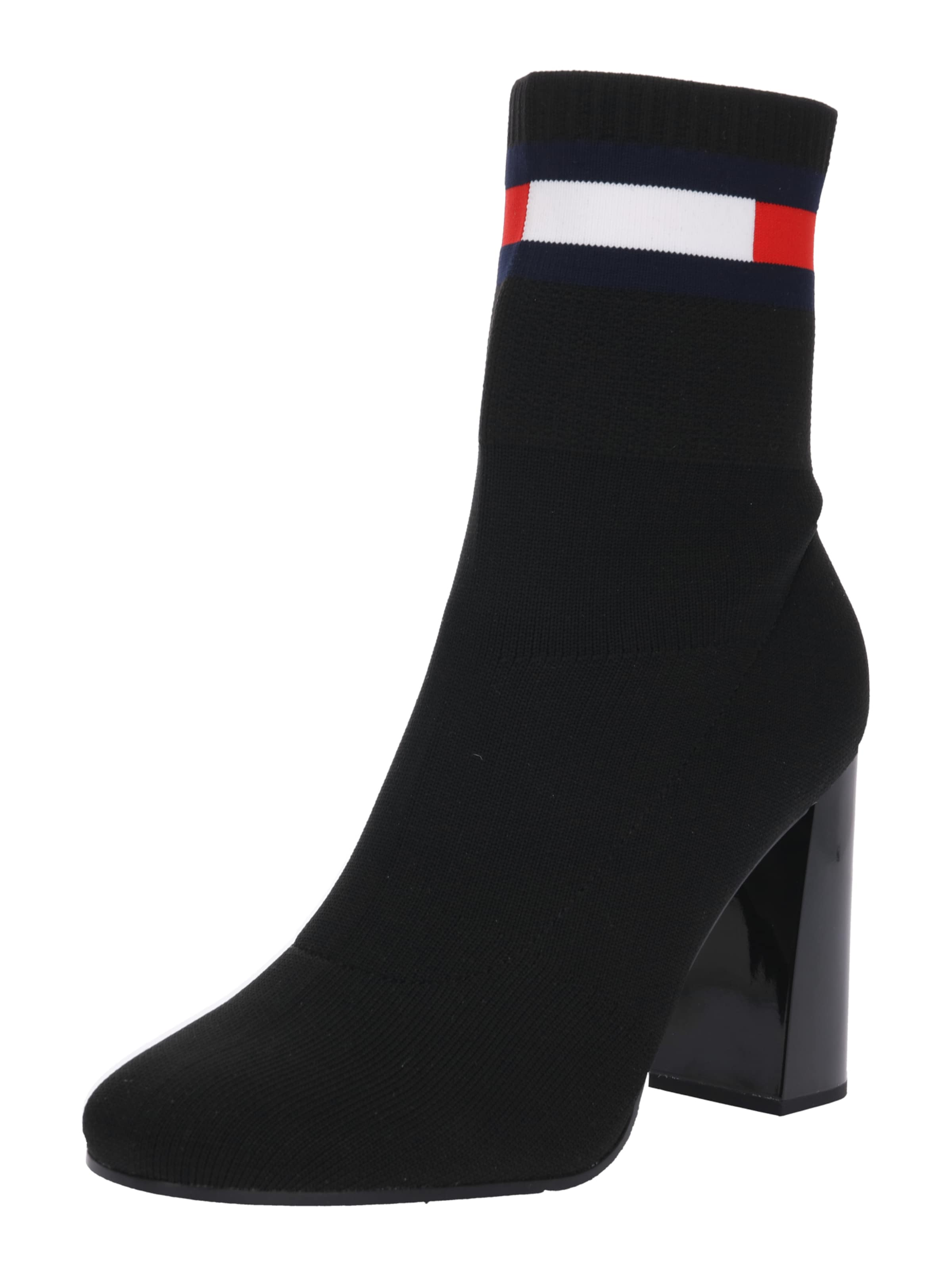 Tommy Jeans High-Heel-Boots aus Strick
